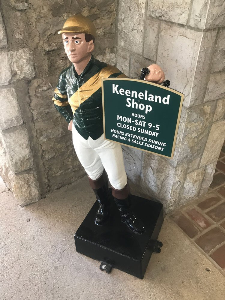 Keeneland Shop entrance