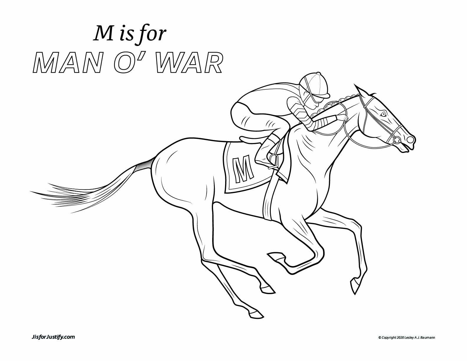 Coloring_Page_Man_o_War