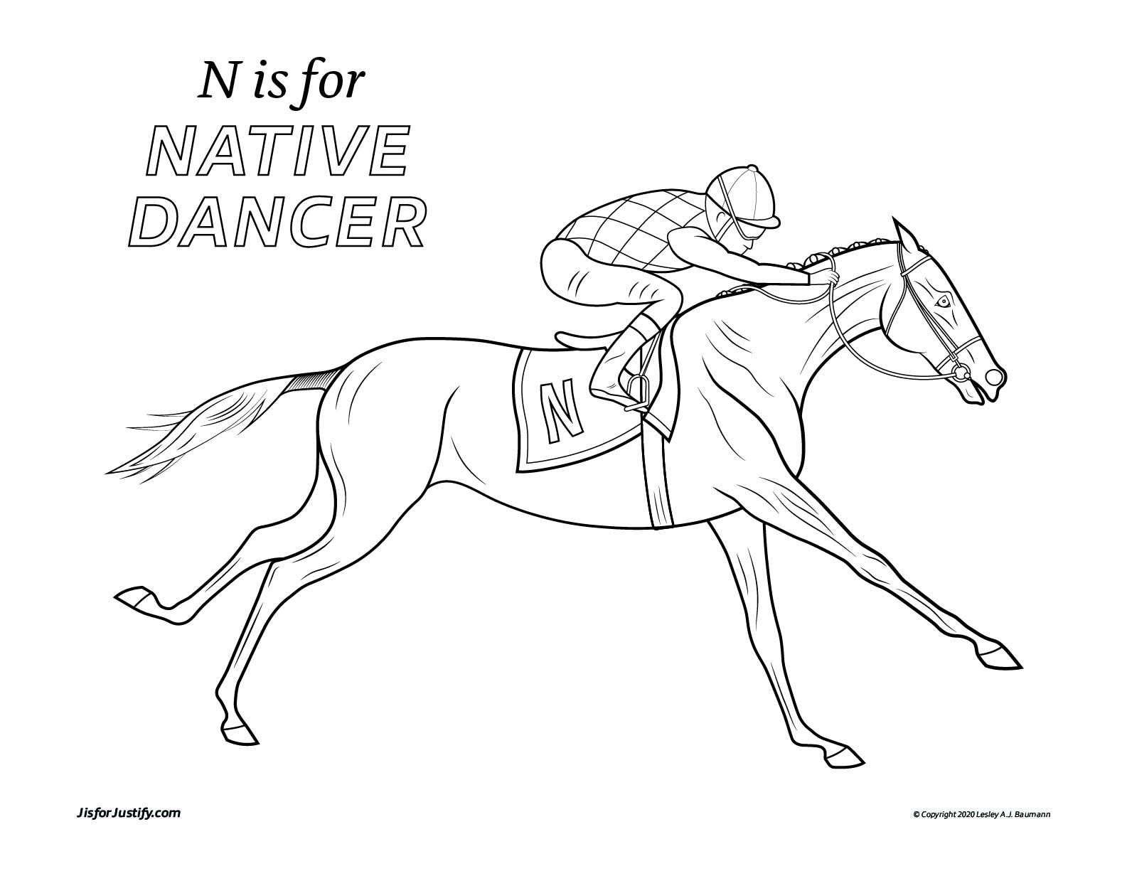 Coloring_Page_Native_Dancer