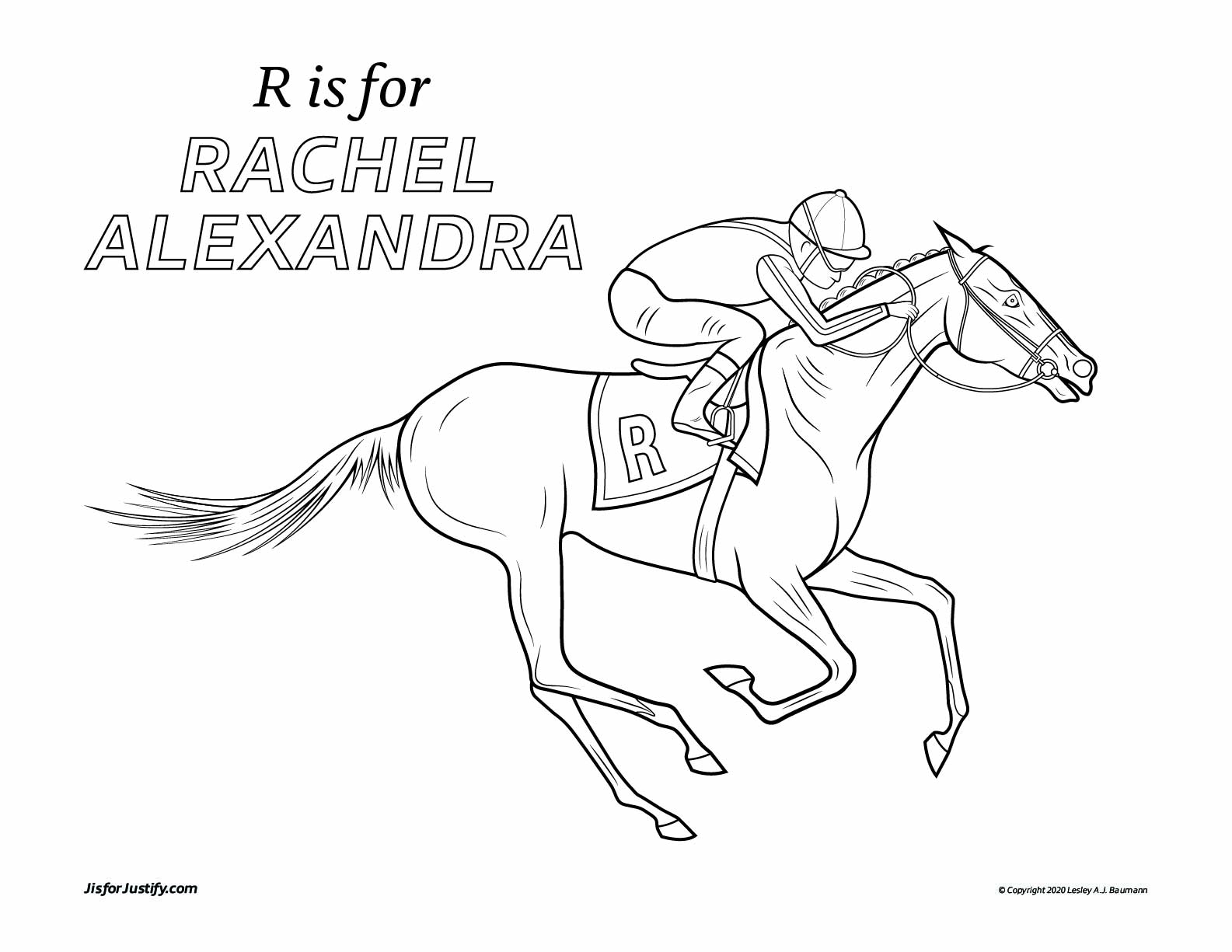 Coloring_Page_Rachel_Alexandra