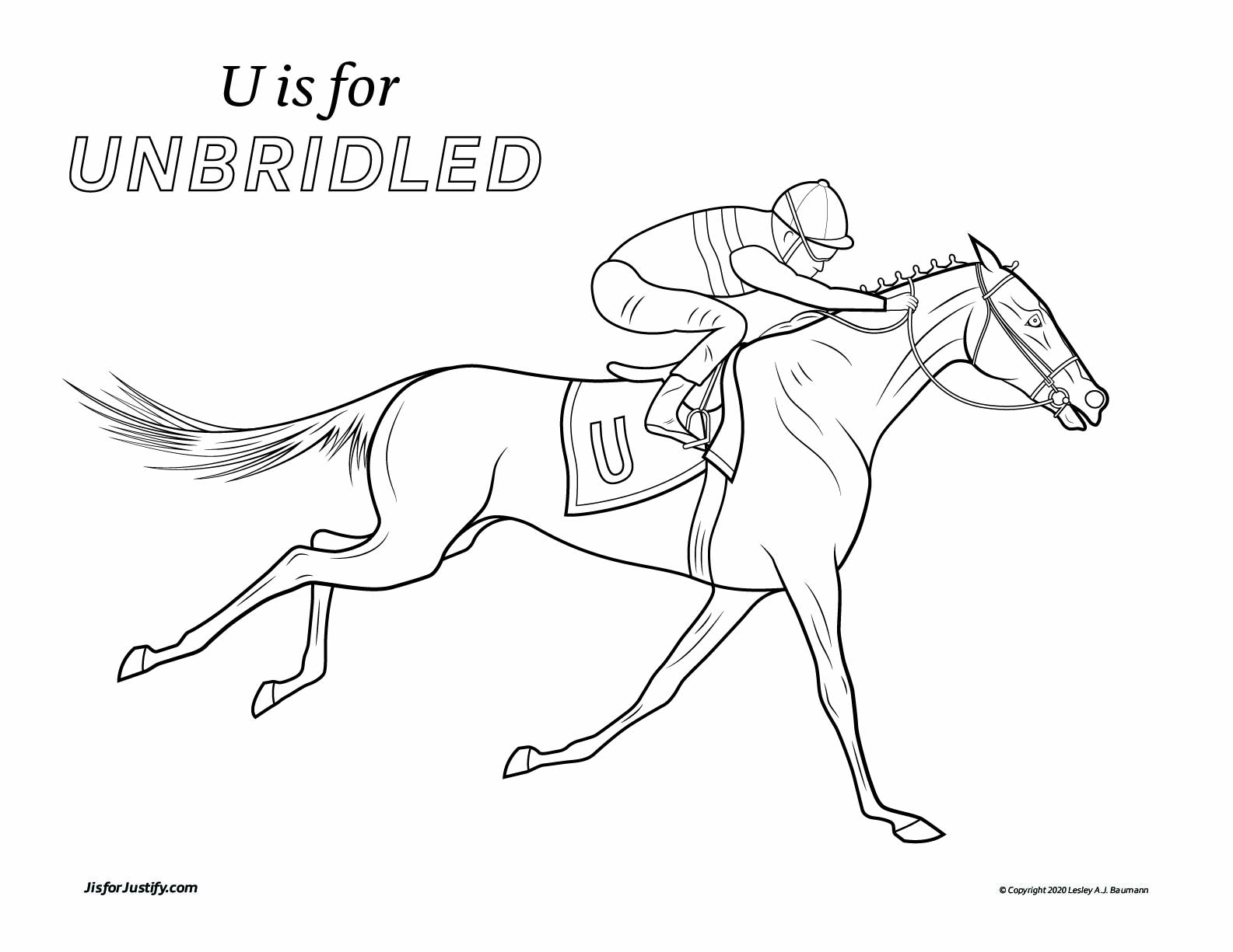 Coloring_Page_Unbridled