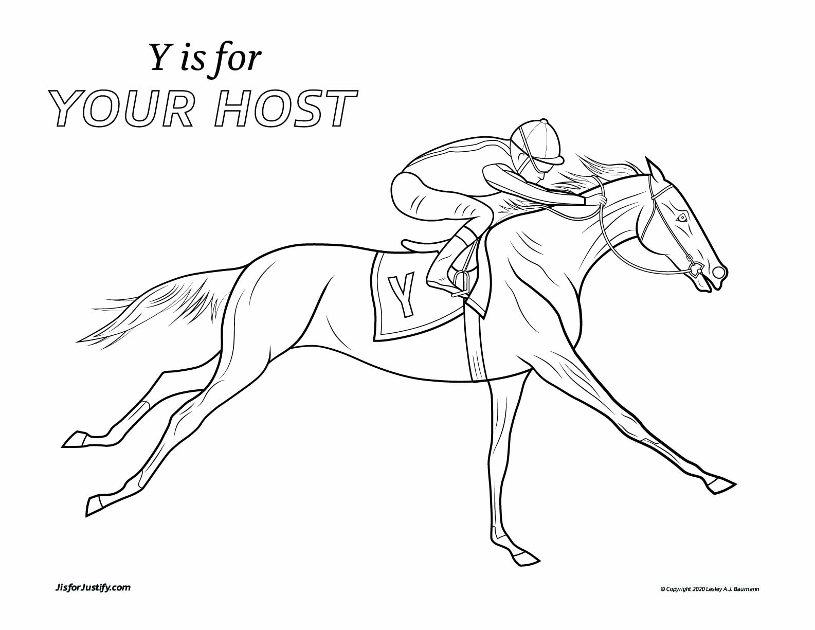 Coloring_Page_Your_Host